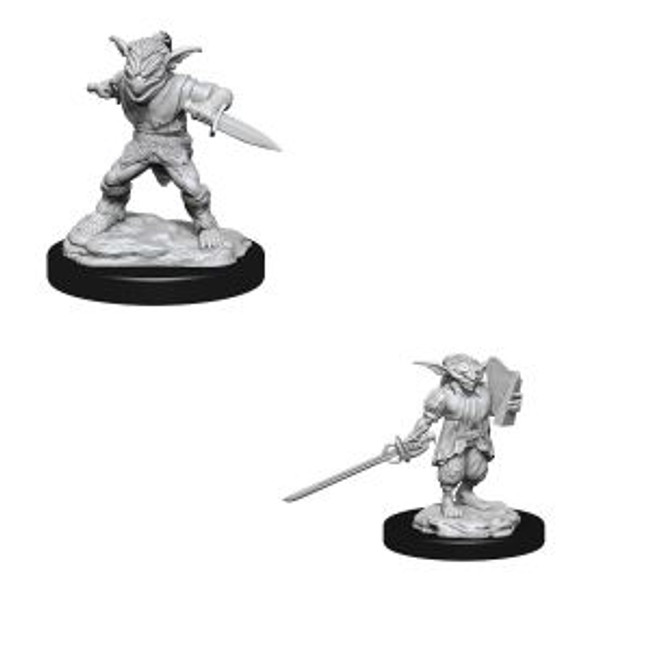 Male Goblin Rogue & Female Goblin Bard W15