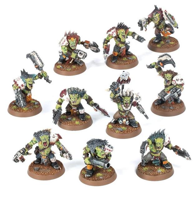50-51 Orks: Beast Snagga Boyz