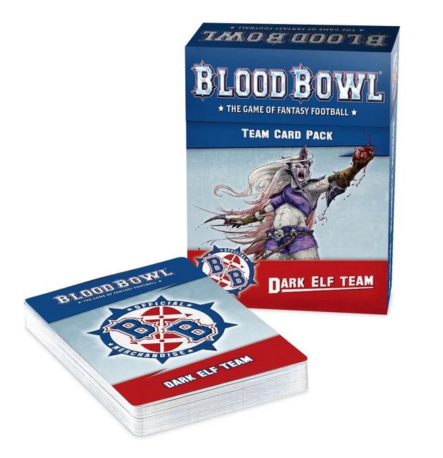 200-44 BB: Dark Elf Team Card Pack 2021