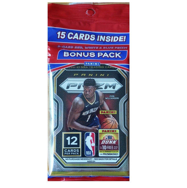 2020-21 Panini Prizm Basketball Multi Pack