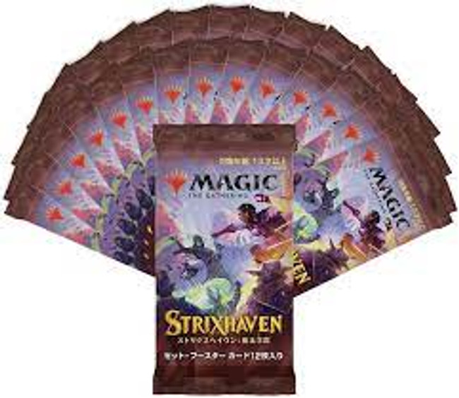 Strixhaven School of Mages: Set Booster Japanese
