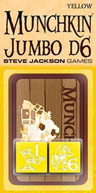 Munchkin Jumbo d6: Yellow