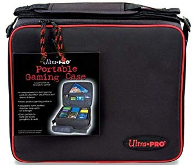 Ultra Pro Zippered Gaming Case with Corrugated Insert