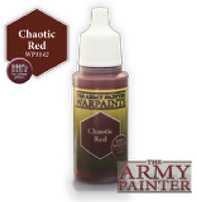 Chaotic Red paint pot