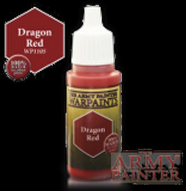 Dragon Red paint pot