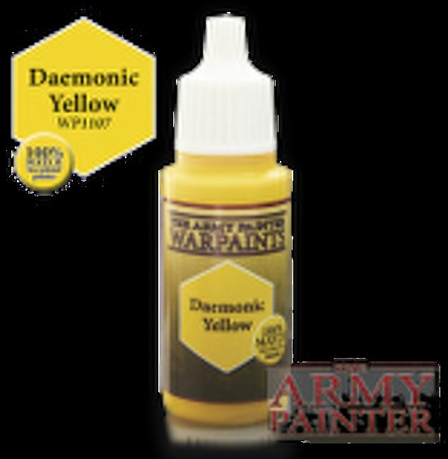 Daemonic Yellow paint pot