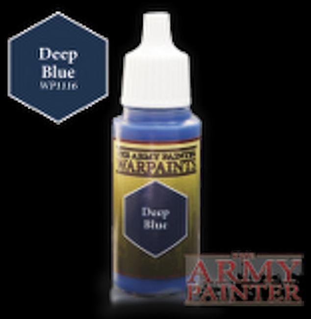 Deep Blue paint pot
