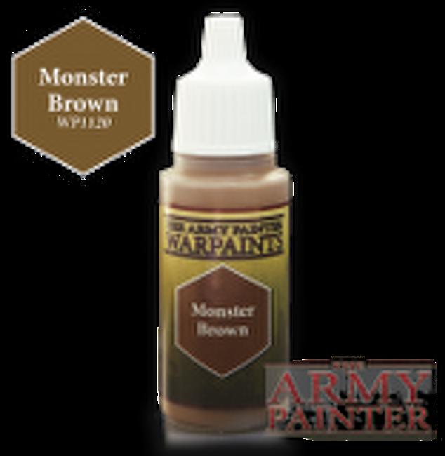 Monster Brown paint pot
