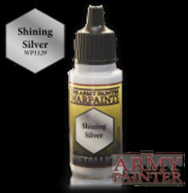 Shining Silver paint pot