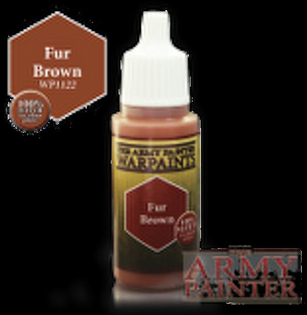 Fur Brown paint pot