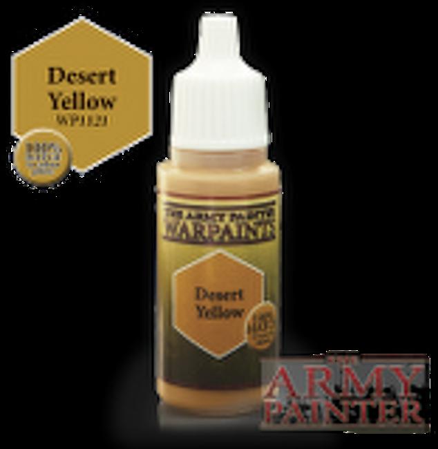 Desert Yellow paint pot