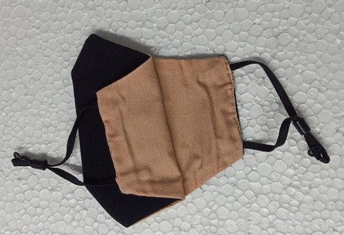 Cotton Reusable Face Mask (Pack Of 2 Pcs)