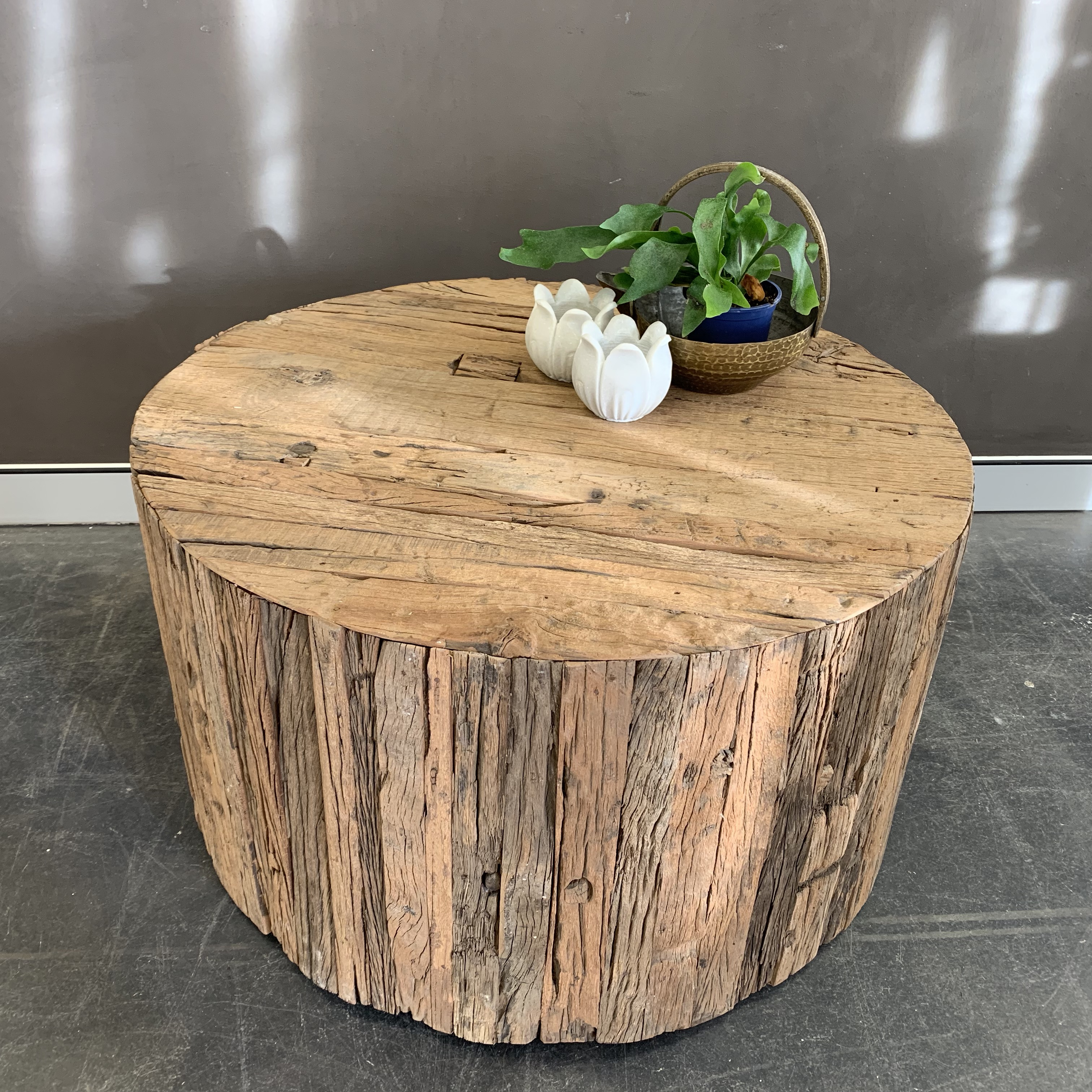 Rustic Coffee Table With Wheels Sohal Living