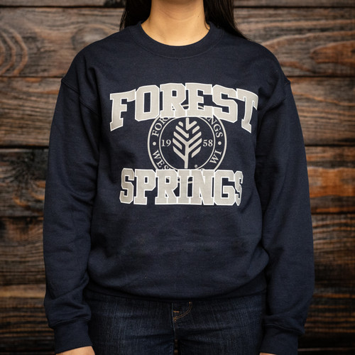 Collegiate Crew Neck Sweatshirt