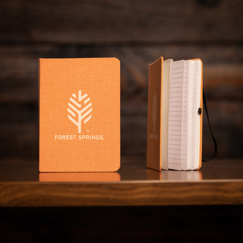Forest Springs Lined Journal