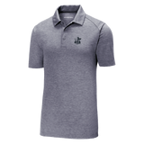 Heather Navy Triblend FCA Polo