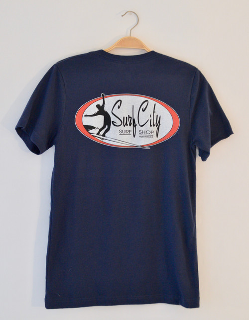 Surf City Original Logo T-Shirt from Wrightsville Beach, NC.