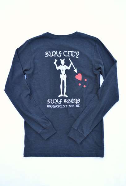 Surf City Blackbeard Long Sleeve T-Shirt