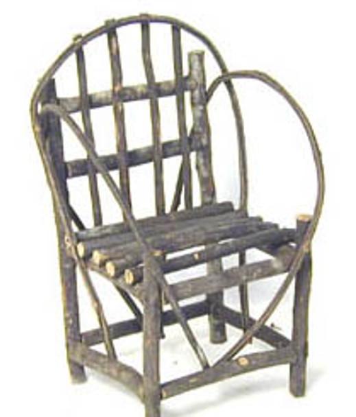 Log Chair Miniature Craft