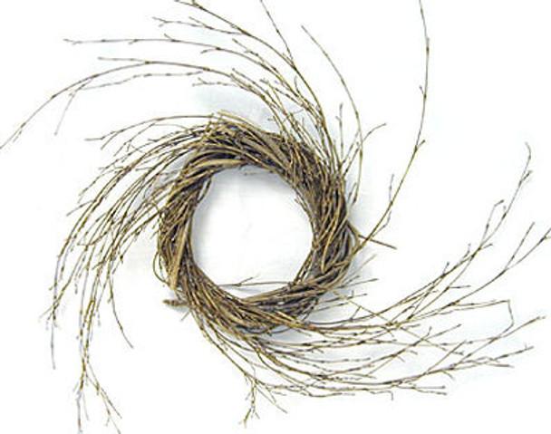6 inch Bamboo Spin Wall Wreath