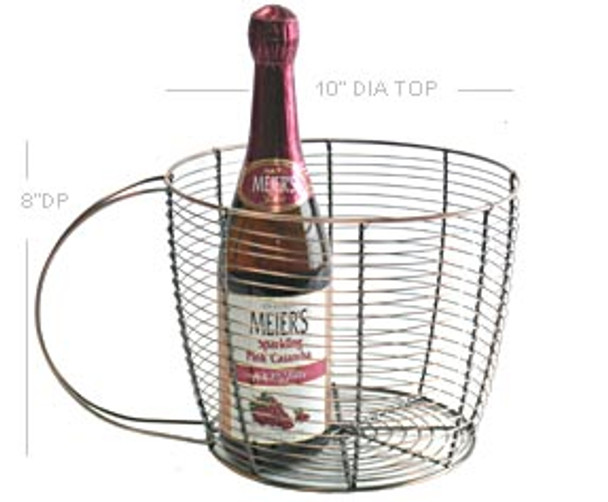 Wire COFFEE CUP Antique Reproduction Wire Basket