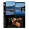 Print File Black Background Album Pages