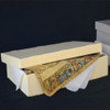 Short Lid Corrugated Textile Storage Box