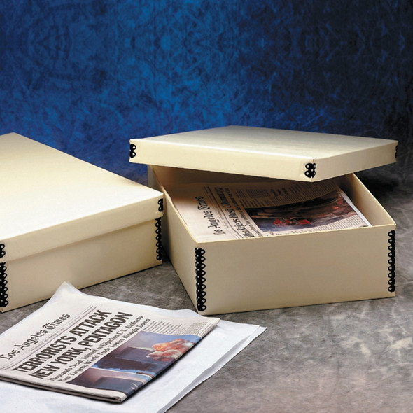 "5"" Deep Corrugated Newspaper Storage Boxes"