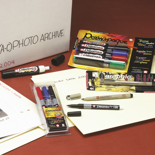 Archival Quality Pens & Markers
