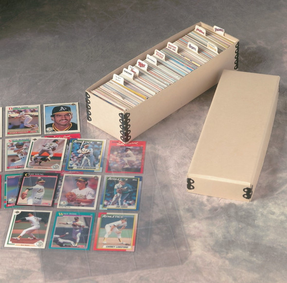 Baseball Card Storage