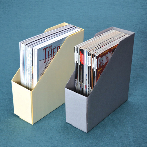 Corrugated Pamphlet & Magazine Files