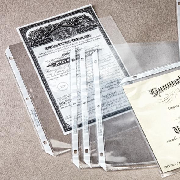 C-Line® Top-Loading Sheet Protectors