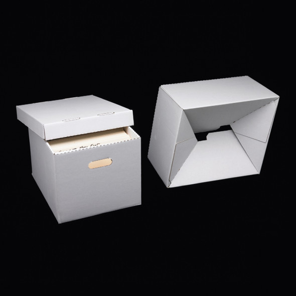 Hollinger Automatic Set-up Record Storage Carton