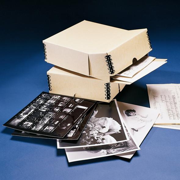 Hinged Lid, Drop Front Storage Box