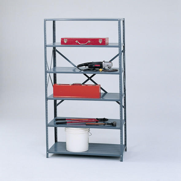 Industrial Strength Steel Shelving