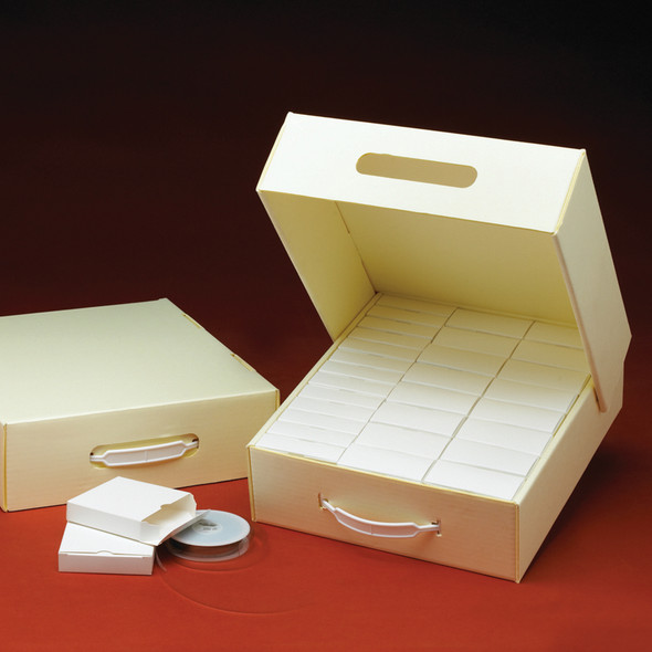 Microfilm Storage Box w/Handle