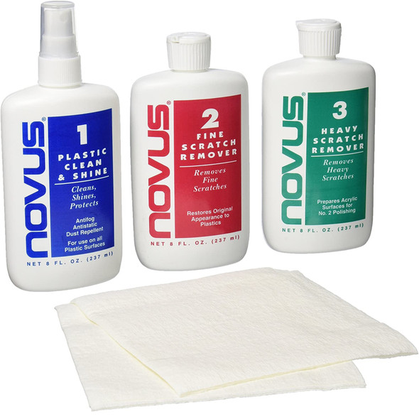 Novus® Plastic Cleaner & Scratch Removers