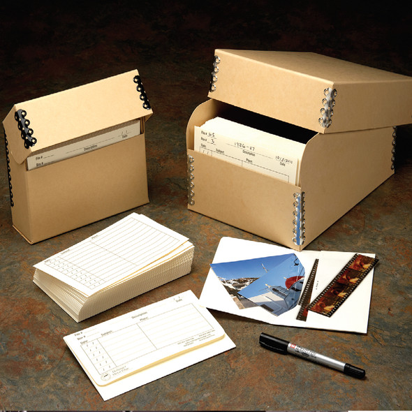 Photo Envelope Box Storage System