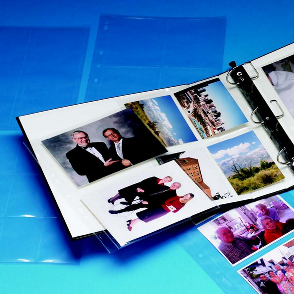 Photo/Slide & Film Strip Album Pages