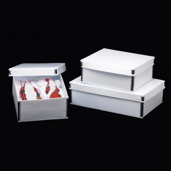 Polypropylene Short Lid Storage Boxes