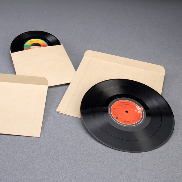 "Record Envelopes with 1"" Flap"
