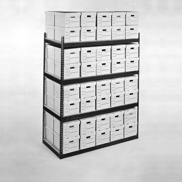 Record Storage Carton Shelving