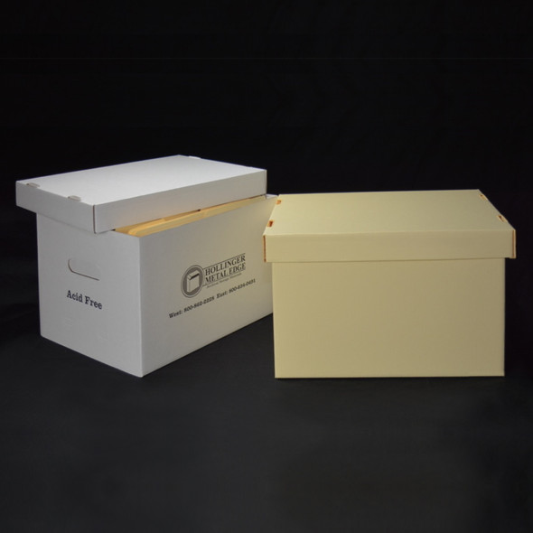 Standard Record Storage Cartons - Detached Lids