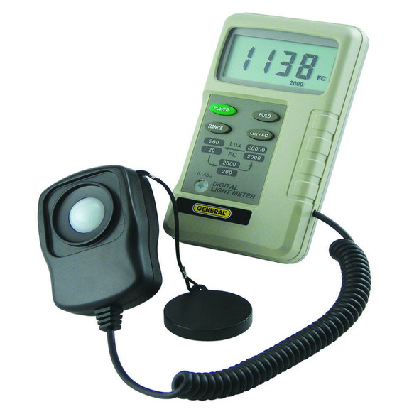 Three-Range Light Meter