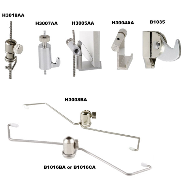 Wall Hanging System Accessories