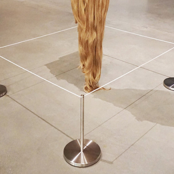 Q-Cord™ Art Stanchion
