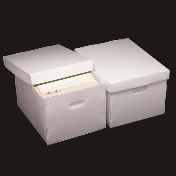 Polypropylene Record Storage Box