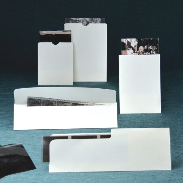 Unbuffered Negative Strip Envelope with Flap