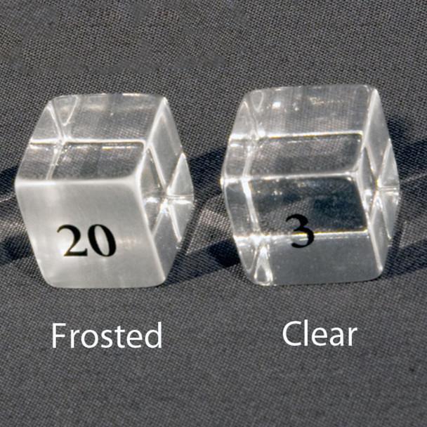 Acrylic Marker Cubes