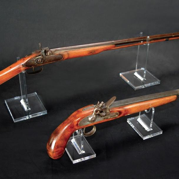 Acrylic Rifle Holder